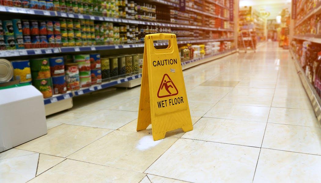 Victime d'un accident dans un magasin, qui est responsable?