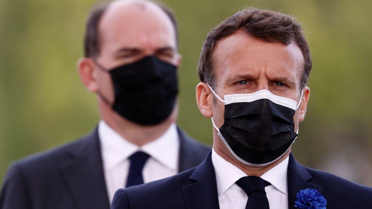 Emmanuel Macron, Jean Castex, 8 mai, Champs Elysées