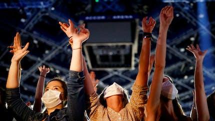 Covid-19: pas de sur-risque d'infection pour les spectateurs (masqués) d'un concert