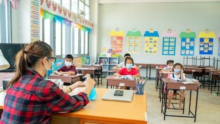Confinement: une indemnité pour les enseignants ayant accueilli les enfants de soignants