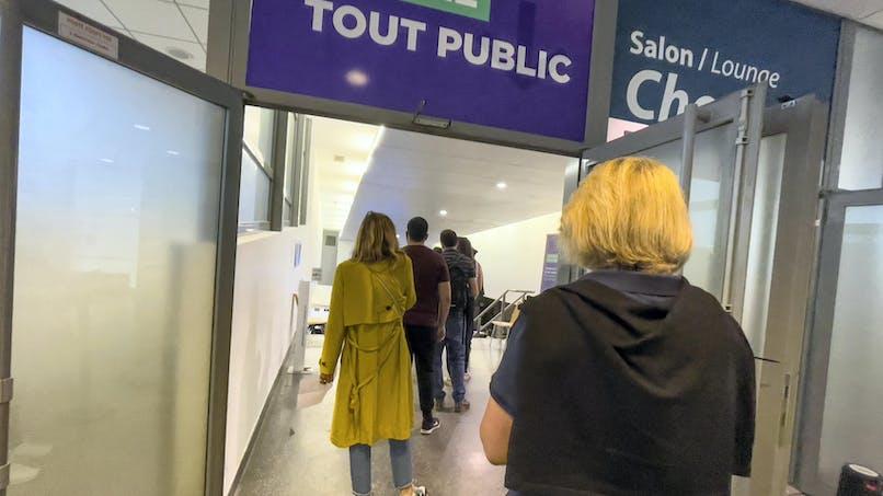 Stade de France, couloir, visiteurs, vaccination