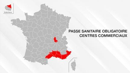 Passe sanitaire : dans quels centres commerciaux ?