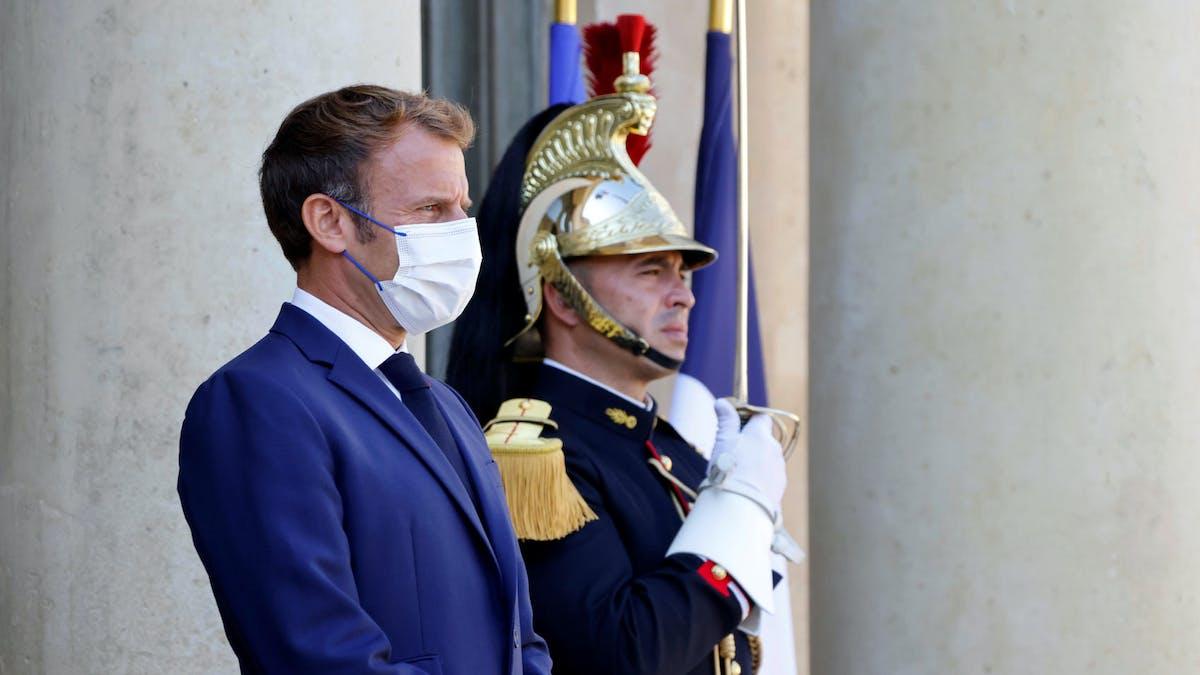 Emmanuel Macron, Elysée