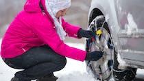 Pneus neige ou chaînes obligatoires: voici les 48 départements concernés à partir du 1er novembre