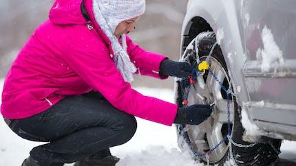 Pneus neige ou chaînes obligatoires... mais pas de sanction !
