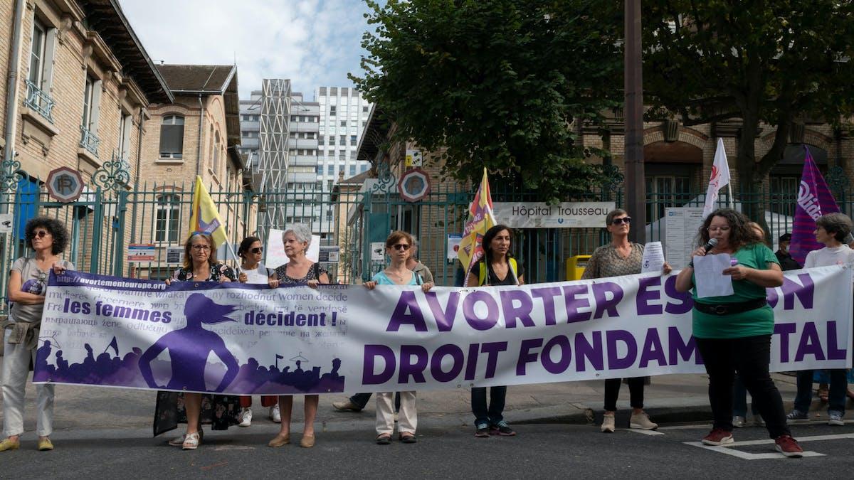 Manifestation, Paris, IVG