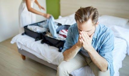 Un départ du domicile conjugal possible pendant la procédure de divorce